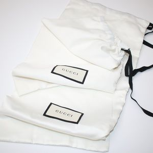 NEW Gucci Dust Bags - Set of 2